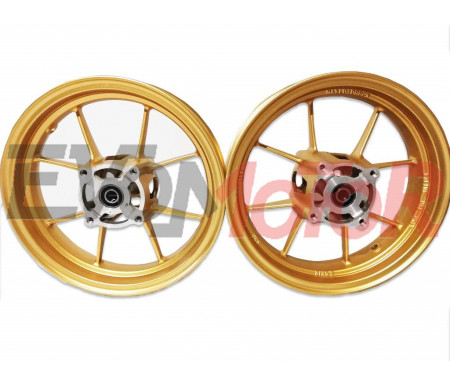 Set cerchi VMC LIGHT 4F ORO 2.50/3.00-12""