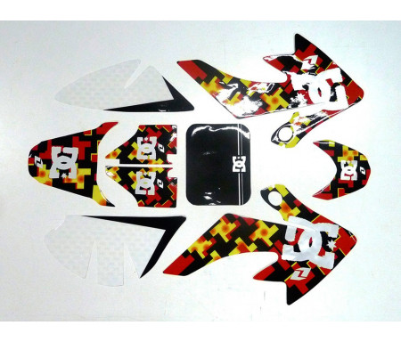 Set grafiche DC shoes CRF 50