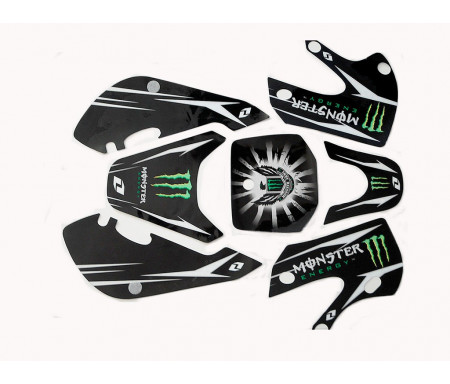 Kit grafiche KLX Monster nero
