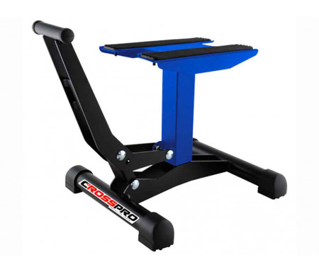 Cavalletto CrossPro a leva Blu